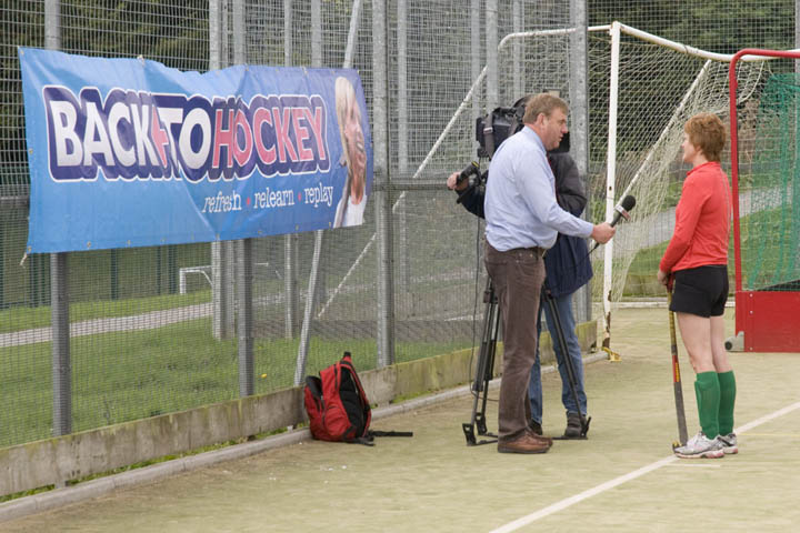 Our Back To Hockey session gets Sky TV coverage in 2012